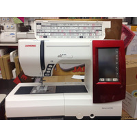 Janome Memory Craft 9900 Costura + Bordadora Touch+regalo