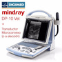 Ecógrafo Portátil B/n Mindray Dp-10 Vet +microconvex Digimed