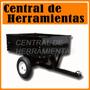Carro Para Mini Tractor Carga 227 Kg Origen Usa