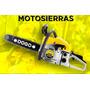 Motosierra A Explosion Espada 55 Cm Motor 62cc Naftera Dogo