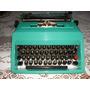 Máquina De Escribir Marca Olivetti Studio 45