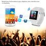 Reloj U8 Smartwatch Android Iphone Samsung Galaxy Htc Blanco