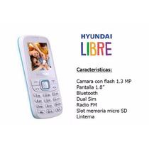 Celular Hyundai D205 Dualsim Fm Bluet Libre Mar Del Plata