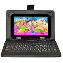 Tablet Pc 10 Pulgadas Android Wifi 8gb Qcore C/funda+teclado