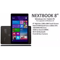 Tablet Nextbook 8 Pulg. 16gb 1 Gb Ram Intel Atom Quadcore