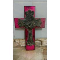 Decoracion Religiosa Sagrado Corazon Cruz Cristo