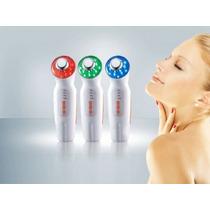 Ultrasonido Y Fototerapia Masajeador Anti Arruga Grasa Acne
