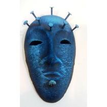 Mascara Cerámica Azul