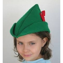 Gorro Peter Pan Sombrero Peter Pan