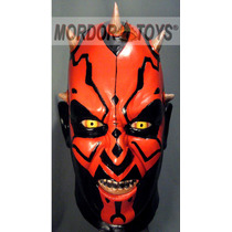 Darth Maul Máscara De Látex Star Wars Halloween Mordortoys