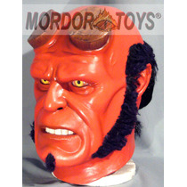 Hellboy Máscara De Látex Disfraz Halloween Mordortoys
