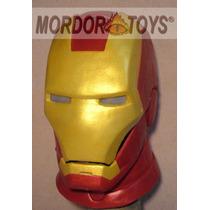 Ironman Máscara De Látex Disfraz Halloween Mordortoys