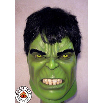 Hulk Máscara De Látex The Avengers Halloween Mordortoys