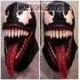Venom Máscara De Látex Spiderman Halloween Mordortoys
