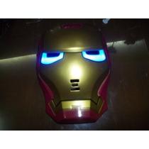 Mascara De Iron Man Con Luz