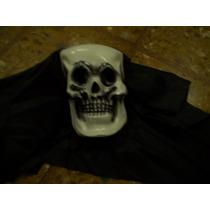 Mascara De Calavera Con Capucha /halloween