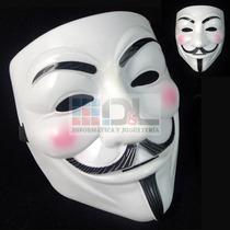 Mascara Anonymous V De Venganza Nicky Romero Rígida X10 Unid