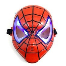 Mascara C/luz - Hulk Capitan America - Spiderman V. Crespo