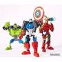 Capitan America,hulk, Iron Man Con Piezas Intercamb.la Plata