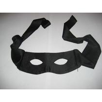 Antifaz De Tela Tipo Mascara Para Disfraz De Zorro, Gatubela