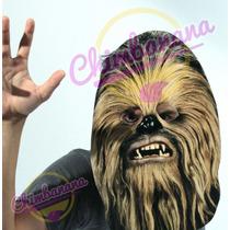 Careta De Chewbacca - Originales Disfraces! Cotillón Fiesta