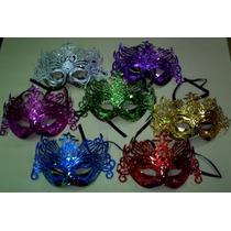 10 Mascaras Venecianas Caladas Cotillon Antifaz Careta