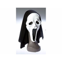 Mascara De Scream Con Capucha /halloween