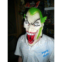 Joker , Guasón , Máscara De Latex , Halloween , Fiestas
