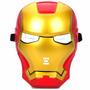 Mascara Iron Man Luz Led Almagro