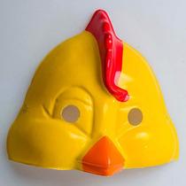 Careta Plástica De Pollito Mascara De Pollo