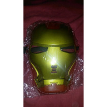 Máscara De Iron Man De Plástico Duro