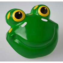 Careta Plástica Sapo- Mascara Animales Accesorio Disfraz
