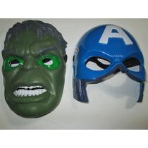 Mascara Increible Hulk Y Capitan America Con Luz