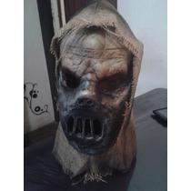 Mascara Zombie Con Bozal Espantapajaro Terror Joda Halloween