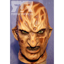 Máscaras De Látex Freddy Hellboy Diablo Disfraz Halloween