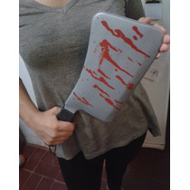 Acha Carnicero Machete Terror Grande Halloween Horror Miedo