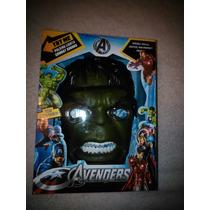 Máscara De Hulk Con Luz Led En Caja