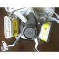 Semimascaras Serie 6200 De 3m Y Filtros Para Gases Organic-