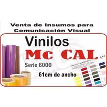 Vinilo Mccal - Ancho 61 Cm Mejor Precio Fraccionado X Metro