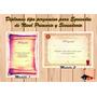 Diploma Tipo Pergamino Para Egresados