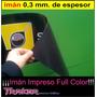 Rollo Plancha De Imán 0,62x1mts Flexible Publicitario Traker
