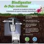 Biodigestor En Tanque Eternit De 500 Lts. 5 Años Garantia