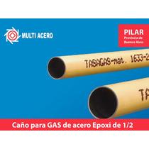 Caño Epoxi Para Gas 1/2 Pulg 6.40 Mts Tasagas
