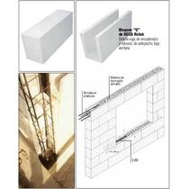 Ladrillos Retak Bloque De 10x25x50 Cm
