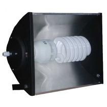 Reflector Proyector Exterior + Lampara Bajo Consumo 105w E40