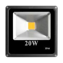 Reflector Led Blanco 20w P/exterior 120º 2000lm Ip66