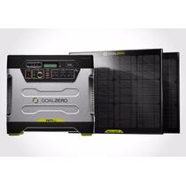 Equipo Carga Solar Generador 220 12v Usb Goal Zero Yeti 1250