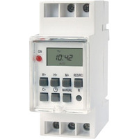 Timer Digital Riel Din Reloj Temporizador Programable Zurich