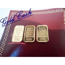 Urgente Lingotes En Oro 24k Banco Ciudad $949 C/u