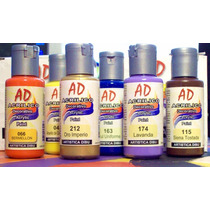 Pintura Acrilica Decorativa Eterna Ad 50ml Color Tradicional
